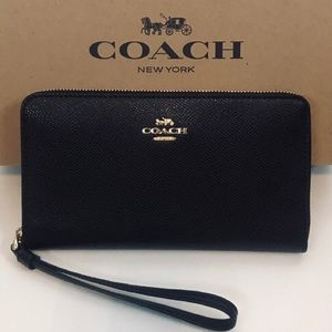 🌟NWT - COACH LEATHER Phone Wallet